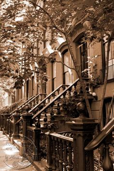 New York Photography sepia Greenwich by UnAirDeParisByAlbane,#newyork