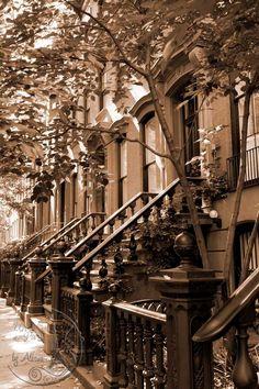 New York Photography sepia Greenwich by UnAirDeParisByAlbane,#newyork