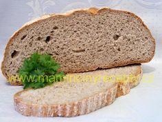 Bezlepkový chléb s psylliem Banana Bread, Food And Drink, Gluten Free, Cake, Desserts, Diet, Glutenfree, Tailgate Desserts, Deserts