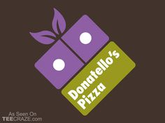 Donatellos Pizza T-Shirt - http://teecraze.com/donatellos-pizza-t-shirt/ -  Designed by Olipop