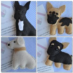 cute doggies - key chains?