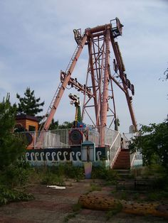 Okpo Land, abandoned South Korean fun park