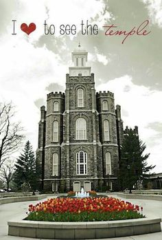 I love to see the temple - Logan, Utah Temple
