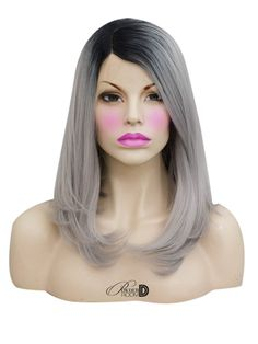 Heat safe synthetic Lace Front wig long density Made of soft synthetic fiber Can be styled with hot tools on a low-medium temperature . Synthetic Lace Front Wigs, Synthetic Wigs, Powder Room D, How To Apply Concealer, Hot Tools, One Hair, Light Hair, Dry Shampoo, Hair Inspo