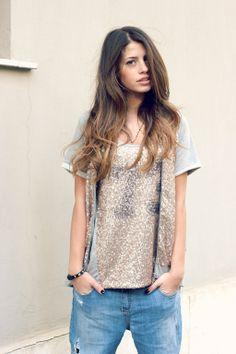 Sul blog di #ChiaraNasti la maglia #Lollystar della collezione #PrimaveraEstate2014. #Splendida!!!