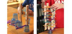 4 opdrachten voor een uitdagende bouwhoek! - Gespot voor jou! Preschool Science, Triangle, Games, Outdoor Decor, Circuit, David, Kindergarten Science, Gaming, Toys