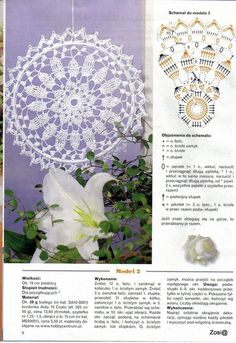 Mandala patron We are want to say thanks if you like to sh Easter Crochet, Crochet Round, Crochet Motif, Crochet Doilies, Crochet Lace, Doily Patterns, Crochet Patterns, Dream Catcher Patterns, Doily Dream Catchers