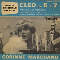 Corinne Marchand / Michel Legrand (コリンヌ・マルシャン / ミシェル・ルグラン) - Cleo de 5 a 7 [ep]…