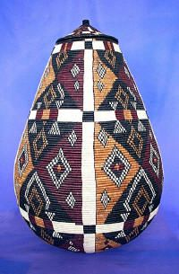 Zulu basket - probably a large grain storage basket.