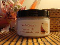 Scented & Unscented Coconut  Oil 4oz Jar... U Pick! 8 scents to choose!