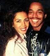 Marlon Jackson and his wife Valencia.