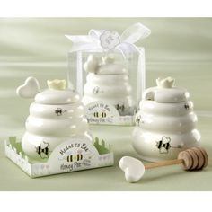 Kate Aspen Meant to Bee Honey Pot (Set of 12) - found at Target.com