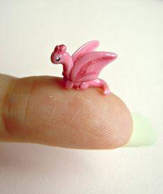 Tiny pink dragon