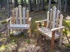 Gartenstühle aus Paletten