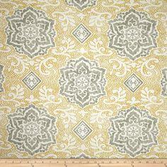 Waverly Spring Spotlight Twill Sterling Fabric