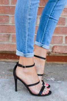 June Heels - Black