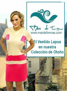Vestido Lepus Búscalo en nuestra colección de Otoño http://www.mardeformas.com/es/237-vestido-lepus.html