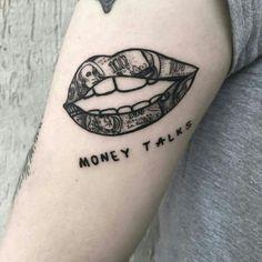 Top 20 unglaubliche Geld Tattoos - Hand Nail Design FoR Women Dope Tattoos For Women, Hand Tattoos For Guys, Small Girl Tattoos, Cool Small Tattoos, Finger Tattoos, Unique Tattoos, Tattoos Motive, Bild Tattoos, Body Art Tattoos
