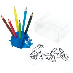 Promotional Ladybug Stationery Sets are a creative colouring kit that includes a small colouring book with images and 6 coated pencils (sharpened). From £0.79.