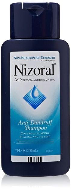 Nizoral A, D Anti, Dandruff Shampoo, 7 oz (Quantity of 2) -- Read more reviews of the product by visiting the link on the image.