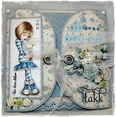 Beautiful card..... like the eyelets :0)