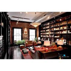 $43 Million TriBeCa Loft Mansion 144 Duane Street, New York, NY ❤ liked on Polyvore