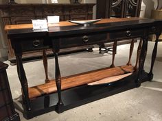 Bringing this shallow console table back