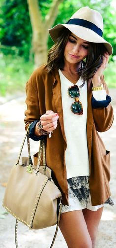 20 Style Tips On How To Wear Suede In Spring