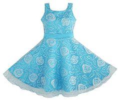 Sunny Fashion Girls Dress Blue Rose Wedding Pageant Kids Boutique Size 1112 >>> Continue to the product at the image link. Girls Blue Dress, Girls Pageant Dresses, Wedding Dresses For Girls, Wedding Bridesmaid Dresses, Blue Dresses, Party Dresses, Occasion Dresses, Marine Uniform, Kids Boutique