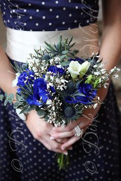 SPRING WEDDING BOUQUET AT SIMON AND JENNIFER'S TYNEMOUTH WEDDING AT THE GRAND HOTEL