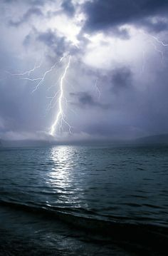 Electrical Storm at Sea  ~Life On Planet Earth~
