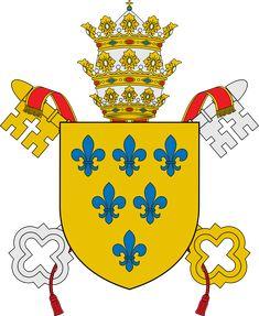 Pope Paul III - Wikipedia Pope Paul Iii, Coat Of Arms, Catholic, Religion, Faith, Cards, Roman Catholic, Family Crest, Religious Education