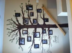 I love our family tree wall!!