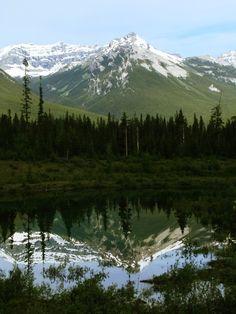The mountains. >>>