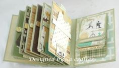 Wonderful you mini album-envelopes