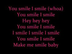 U Smile Justin Bieber Lyrics. Don't rule the Bieber out. This is such a sweet song!