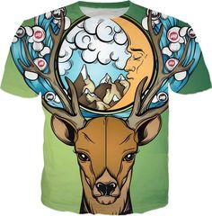 Oh deer - Siqy #Siqy #siqywear #losangeles #la #socal #barcelona #amsterdam #paris #berlin #antwerp #madrid #utrecht #shirts #design #fashion #streetwear