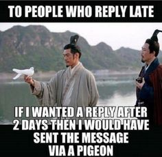 Reply Late
