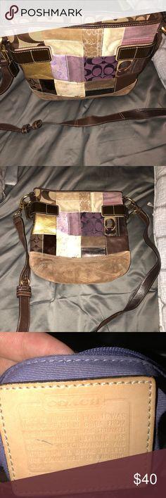 Coach cross body handbag Beautiful coach crossbody handbag Coach Bags Crossbody Bags