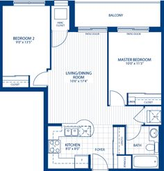 The Trumpeter Rose - 790 sq. ft.