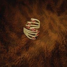 Stunning!!! White Gold Plated Rhinestone Ring Stunning White Gold Plated Cubic Zerconia & Pink Rhinestone Ring Jewelry Rings