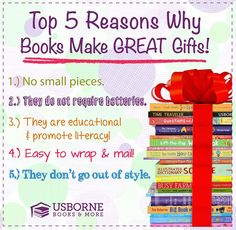 Books make the Best gifts. Great for teachers, incentive gifts, tooth fairy gifts, stocking stuffers, #educational