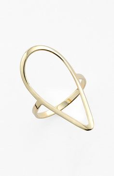 Lana Jewelry 'Pear' Open Ring available at #Nordstrom