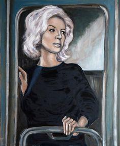 "Saatchi Online Artist: Corinne Korda; Oil, Painting ""The Departure"""