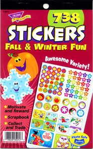Fall & Winter Fun Stickers by Trend