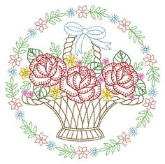 Vintage Embroidery, Custom Embroidery, Embroidery Thread, Machine Embroidery Designs, Embroidery Patterns, Sewing Hacks, Sewing Crafts, Applique Quilts, Vintage Floral