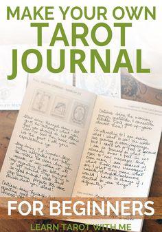 Tarot Planning Journal – Midori Traveler sized