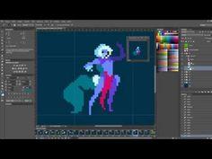 ▶ Duelyst - Concept art to Pixel art: Faction 6 General - YouTube