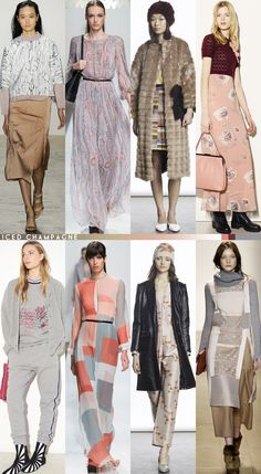 Fall '15 Color Roundup via Aaryn West - Iced Champagne. #fall2015 #runwayprints #aw15