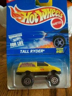 HOT WHEELS 1996 COLLECTOR # 481  TALL RYDER   FREE SHIPPING!!